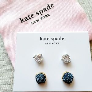 New. Kate Spade Rise & Shine Studs 2 pack